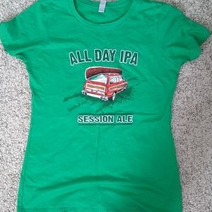All Day IPA tee shirt